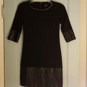 Laundry by Shelli Segal Black Dress Size 2 Petite